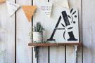 小屋女子計画ステンシル「A&R ~nature~」